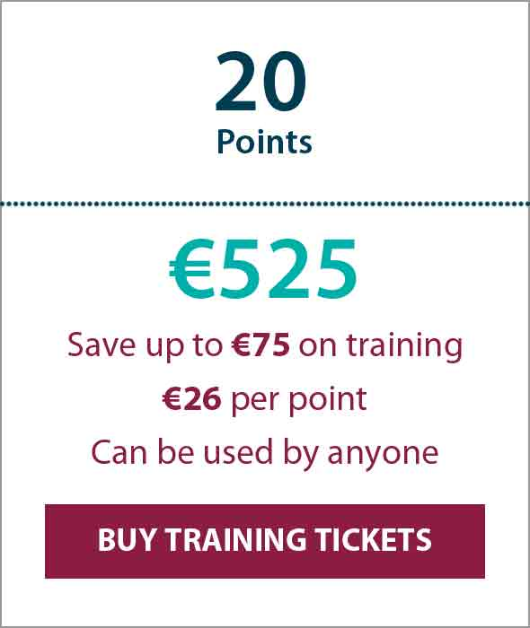 Training Ticket Panels - 20 Points